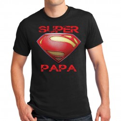 T-shirt homme Super papa
