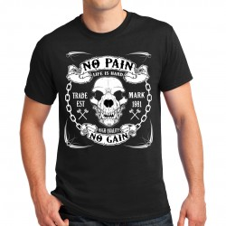 T-shirt homme Bikers No Pain