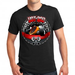 T-shirt homme Racing Hot Rod