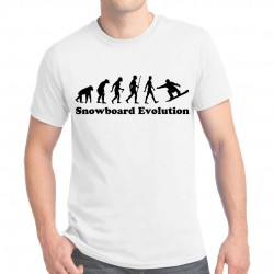 T-shirt homme Snowboard Evolution