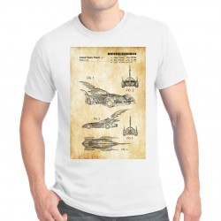 T-shirt homme Brevet Batmobile