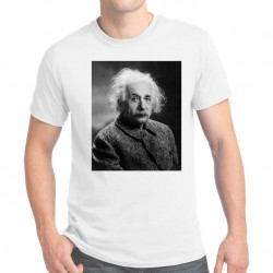 Tee-shirt homme Albert Einstein