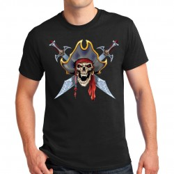 T-shirt homme Bikers Pirate