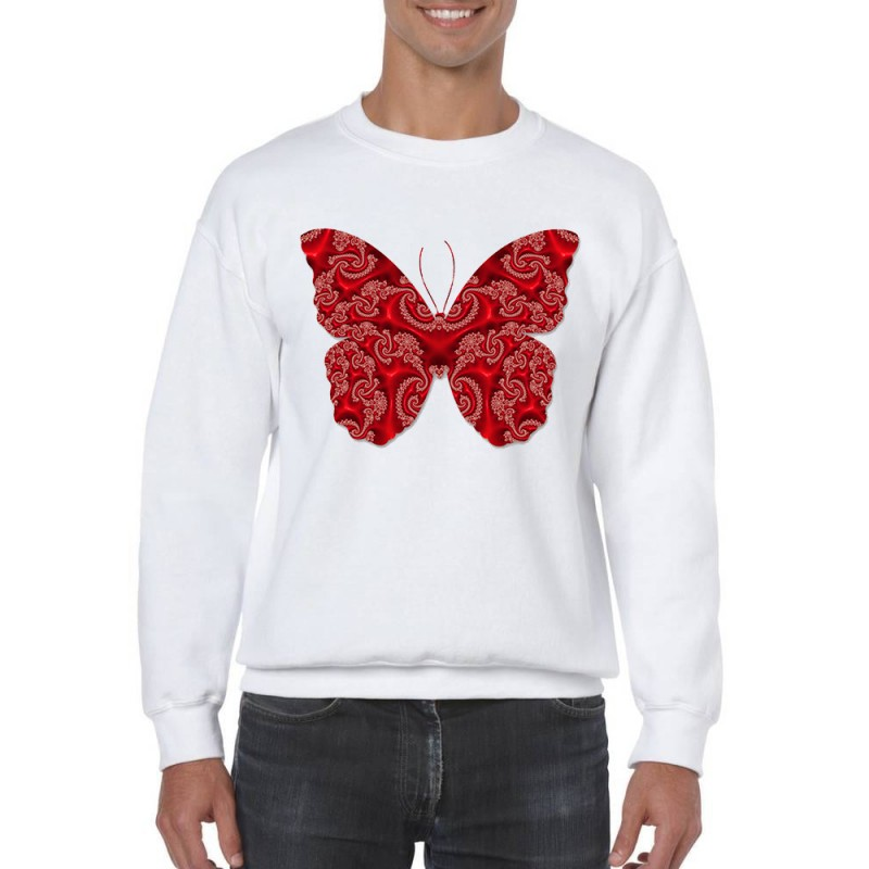 Sweat manche longue Papillon