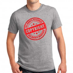 Tee-shirt homme Copyright