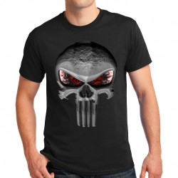 T-shirt homme motif punisher