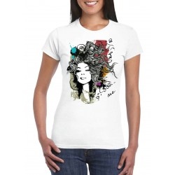 T-shirt Femme Fashion Love me