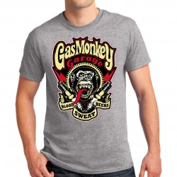 T-shirt homme motif Gas Monkey