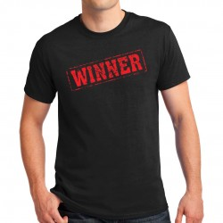 T-shirt homme motif Winner