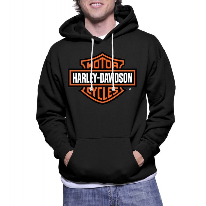 Sweat à capuche Bikers Harley Davidson