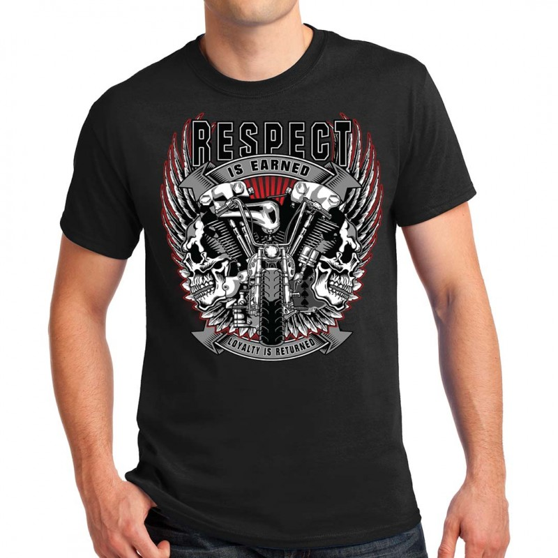 T-shirt homme Bikers Respect