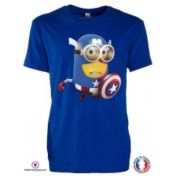 T-shirt Enfant motif Captain America